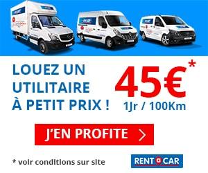 location utilitaire rentacar 45 euros