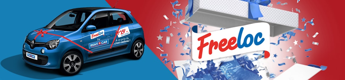 Freeloc+ - promotion location voiture