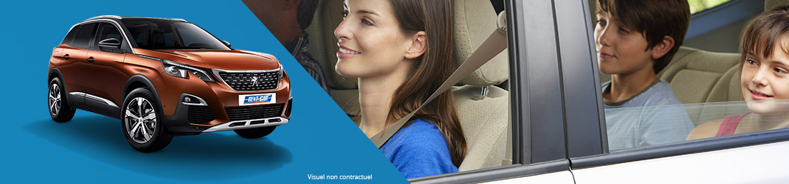 Rent a comfort car with Rent A Car